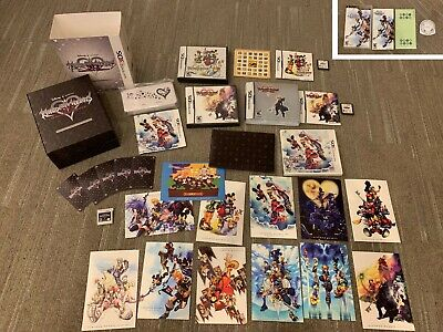 Large KINGDOM HEARTS Lot, Multiple Games for DS including LIMITED EDITION