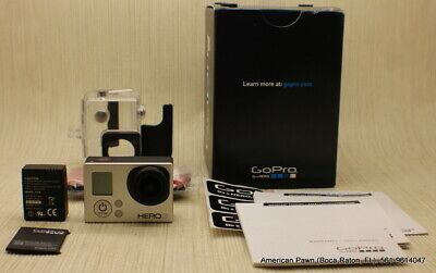 GoPro / HERO3 / White Edition / Camera WiFi Camcorder / Clear Case / CHDHE-301