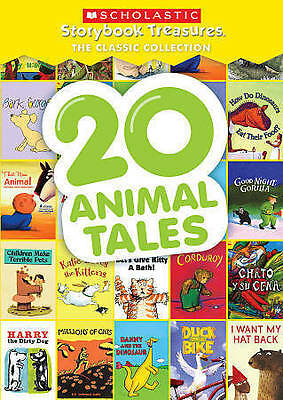 20 Animal Tales: Scholastic Storybook Treasures Classic Collection (DVD, 2016)