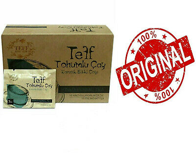 TEFF SEEDS Tea Mixed Herbal Tea 30 pc instant tea (Teff Life Slim) WEIGHT LOSS