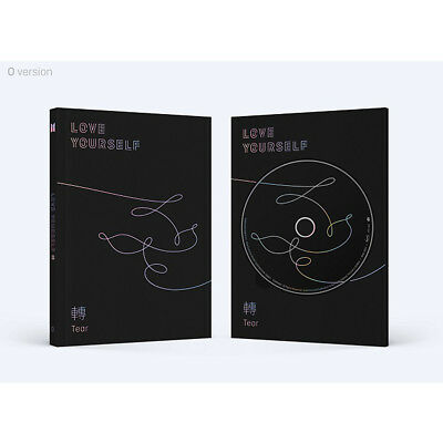 BTS LOVE YOURSELF 轉 Tear 3rd Album O Ver. free standard_with tracking Number
