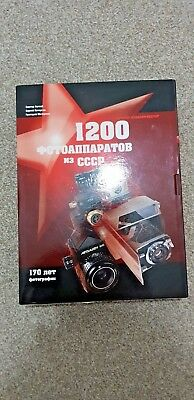 1200Cameras From USSR ultamate book on Russian cameras very rare book