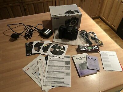 Canon EOS 40D 10.1MP Digital SLR Camera - Black - Body Only