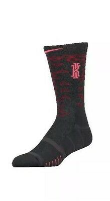 NIKE ELITE QUICK KYRIE BASKETBALL SOCKS Sz L (Men 8-12)