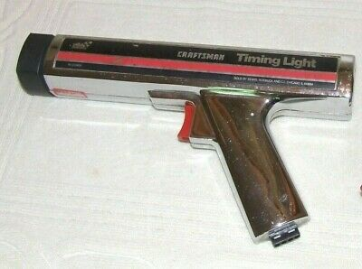 VINTAGE BOXED USA Made Sears Induction Timing Light Gun 9 2137