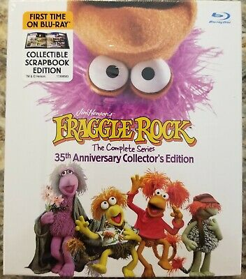 Fraggle Rock Jim Henson 35th Anniversary Collector's Edition Complete Bluray DVD