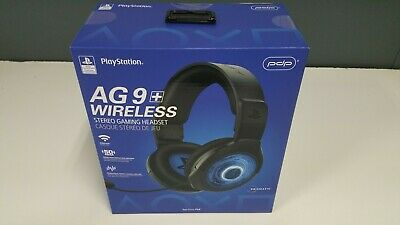 Afterglow PS4 Headset Wireless Afterglow AG 9+  PDP NEWEST MODEL 051-044-NA-LIC