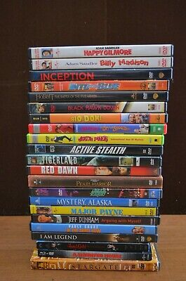 Lot of 22 DVDs Used/Excellent condition - Comedy, Horror, Action, Etc. Assorted