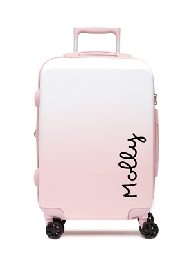 1x Love Island Name Personalised Text for Suit Case luggage Vinyl decal sticker