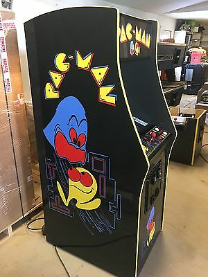 Restored Black PacMan Arcade Machine, Upgraded To Play 412 Games!