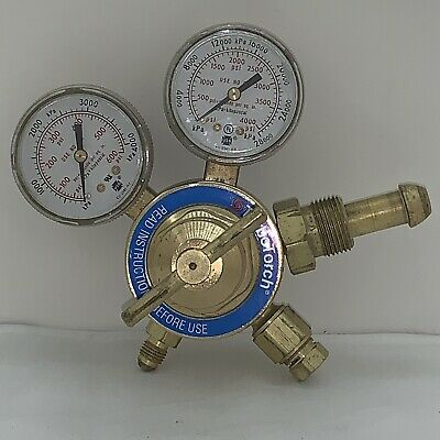 Turbotorch Nitrogen Regulator. Cga 580