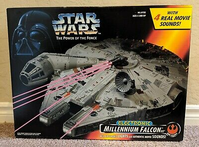 Star Wars Power of the Force Electronic Millennium Falcon - New in Sealed Box