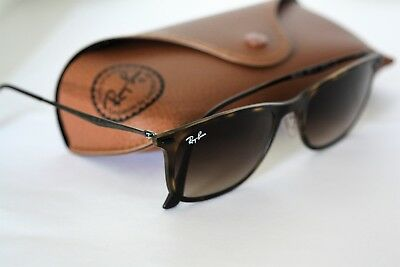 a5a371e4b RAY-BAN AVIATORS BLACK Frame/Brown Gradient Lens RB 3454L RB3454L ...