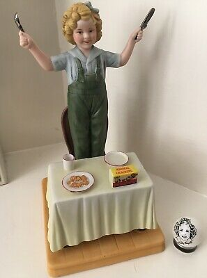 Shirley Temple Figurine Curly Top Limited Edition