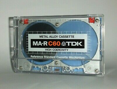 Metal Alloy Cassette (Tdk Ma-R C60) Pure Metal Tape - Type Iv - Japan 1979 - New