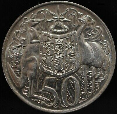 1966 Round Fifty 50 Cent Silver Bullion Coin, 80% Silver. (See Seller Notes)