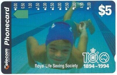 Very Rare Prefix 502 Swimmer: Top Quality, Affordable. Telstra (Trial) Phonecard