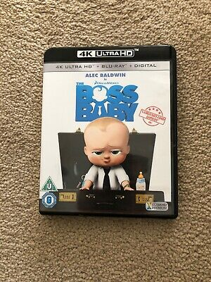 The Boss Baby 4K UHD Blu Ray
