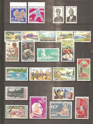 Lot Collection Timbre Polynesie France Frankreich Pa Neuf** Mnh