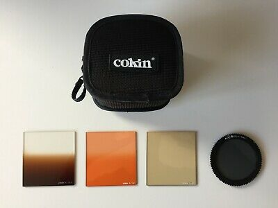 Cokin Soft Case with 4 Filters