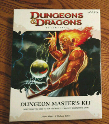 Dungeons & Dragons Dungeon Master's Kit DM's Book 4th Edition Unpunched