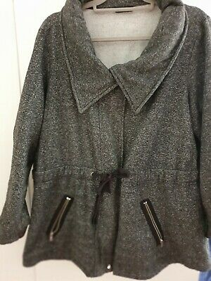 Target Moda Jacket SIZE 22. Black SUPER warm GEORGEOUS COMFY easy care.