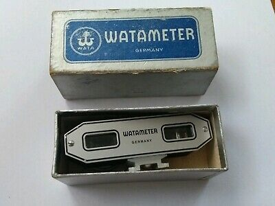 Watameter Camera Mounted Rangefinder. Great working condition. Original box.
