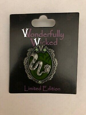 Disney Pin Wonderfully Wicked ~ Kaa ~ Le 3000 ~ New On Original Card ~ In Hand