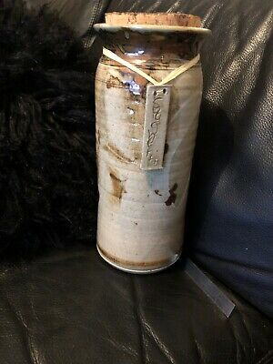 Gorgeous Robert Gordon Pottery Canister/ Spaghetti Jar With Cork