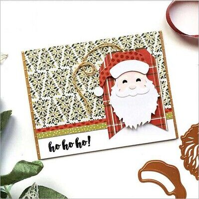 Metal Cutting Dies Santa Claus Scrapbooking Stencil Paper Card Making DIY Albums