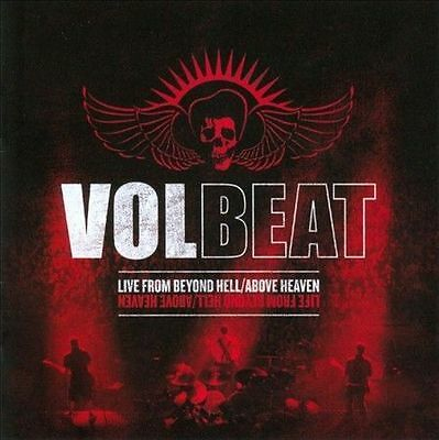 VOLBEAT  Live From Beyond Hell / Above Heaven CD New Factory Sealed