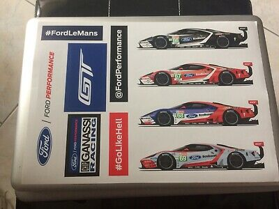 Stickers 24 Heures du Mans 2019  Ford Performance