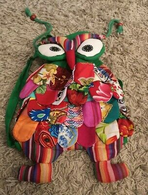 Owl bag Fancy bag cute green summer
