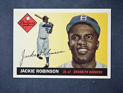 2019 Topps Series 2 Iconic Card Reprints #ICR-64 Jackie Robinson