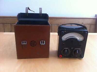Avometer Avo 8 meter in good condition with case