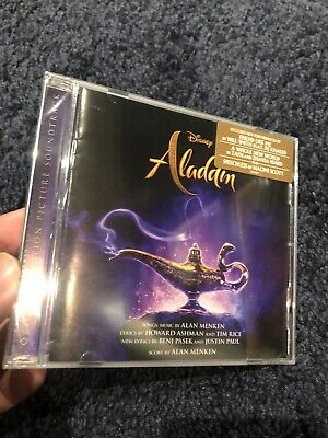 Aladdin Disney Soundtrack New 2019 CD