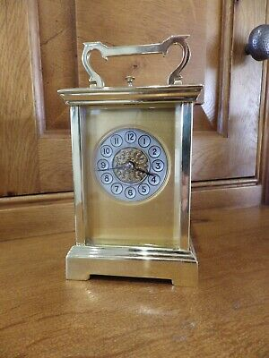 French Repeater Carriage Clock Case And Movement Fully Restored Circl 1880s
