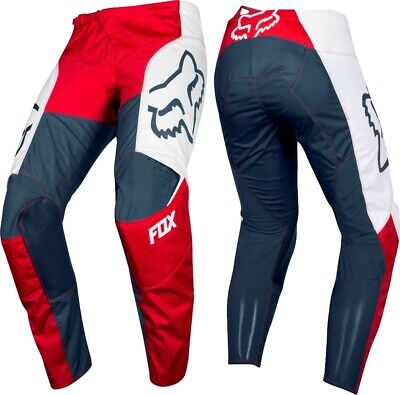 2019 Fox PRZM 180 Motocross MX Race OffRoad Pants RED NAVY Adults