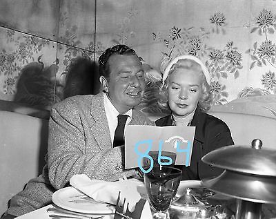 Celebrity Chicago Pump Room 50 Alice Faye, Phil Harris 864 negative b/w