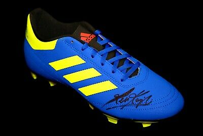 Kevin Keegan Hand Signed Adidas Football Boot : A