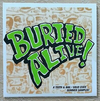 NEW/SEALED Buried Alive 18 Punk Bands Tooth Nail CD Ruth MXPX Underoath Anberlin