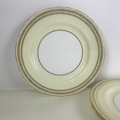 "Set of 3 Aynsley Bone China Dinner 10 3/8"" Plates Pattern 33852 3"