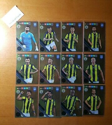 Panini Adrenalyn XL Fifa 365 2019 Limited Edition Fenerbahce Set Made in Italy