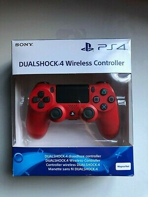 SONY PS4 DUALSHOCK 4 V2 Wireless Controller - Magma Red - WITH BOX - IMMACULATE