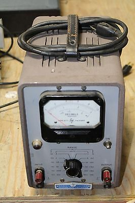 Hp 400D Hewlett-Packard Vacuum Tube Voltmeter Model 400D