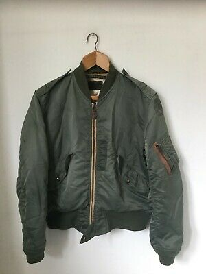 Vintage CAB Clothing USAF L-2B Nylon Flight Jacket