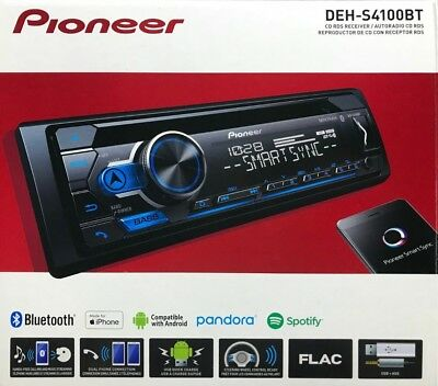 Pioneer - DEH-S4100BT - 1-DIN Stereo Auto CD MP3 Integrato Ricevitore Bluetooth
