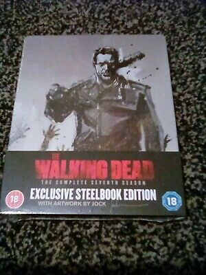 the walking dead the complete seventh season exclusive steelbook edition blu ray