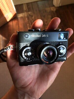 Rollei 35 S BLACK with Sonnar 2,8/40mm