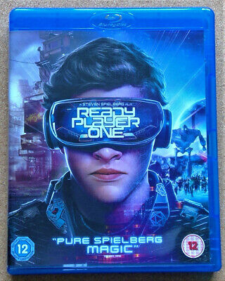 Ready Player One (Blu-ray, 2018 film, movie), only watched once, great condition